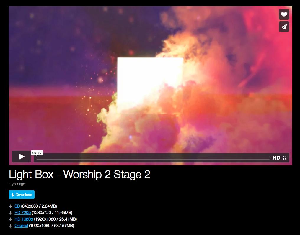 Free Hillsong Praise & Worship Graphics - Pro Church Media