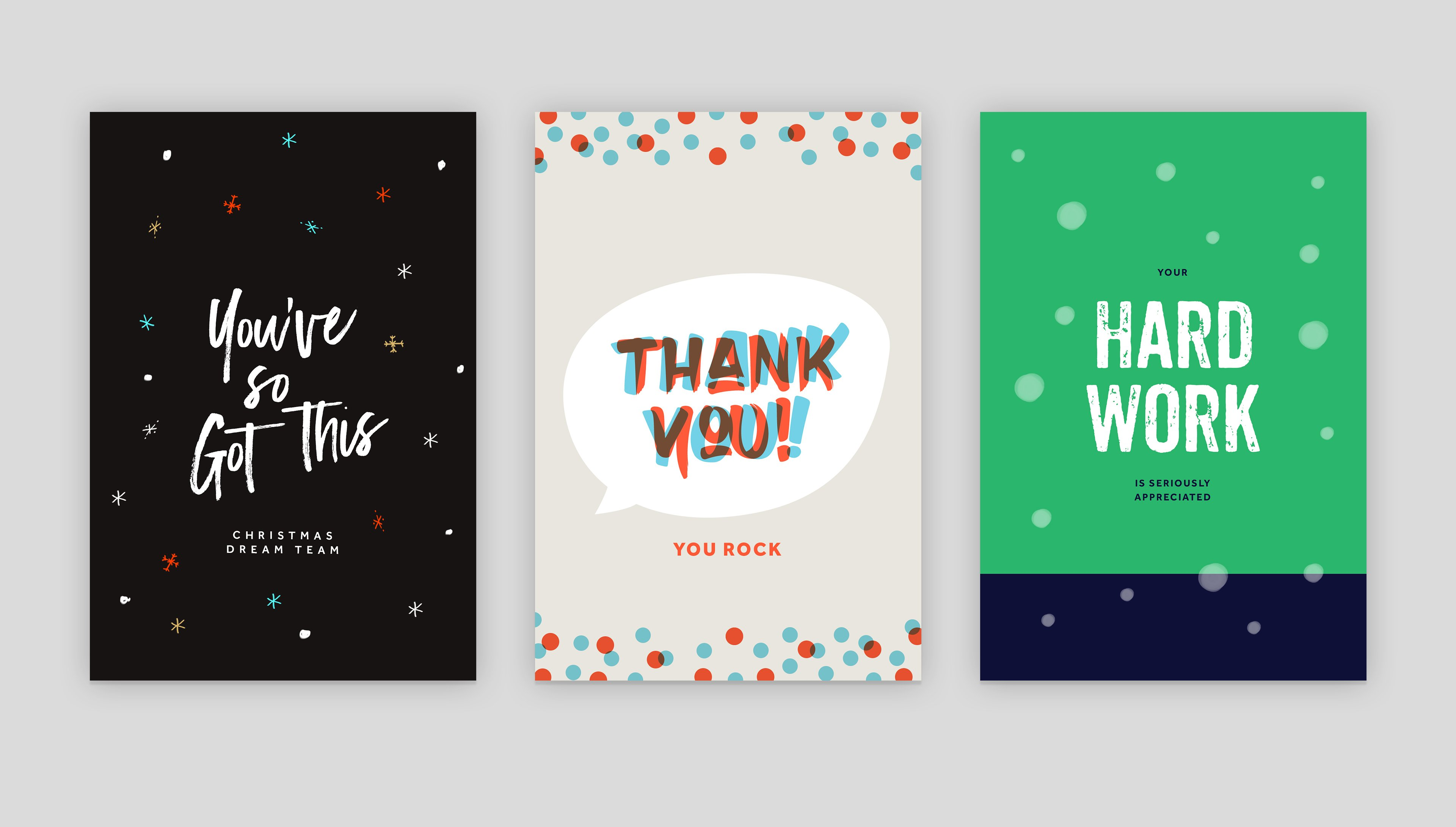 Thank Your Team + Volunteers | Free Templates